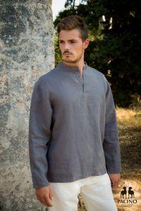 PSH210A Long sleeve Korean Shirt Man PACINO ®