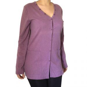 HV09FS052 Cardigan Woman HEMP VALLEY ®