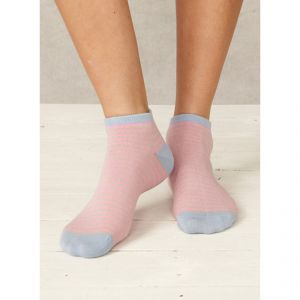 BT16LS64 Striped Ankle Socks Woman BRAINTREE ®