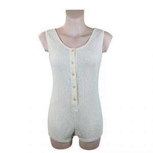 Body con bottoni 100% Cotone Bio Donna ECOSPORT ®