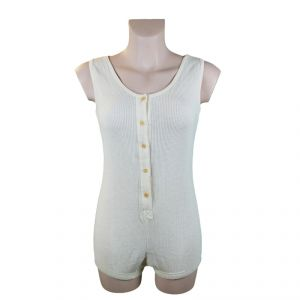 Body with buttons 100% Organic Cotton Woman ECOSPORT ®
