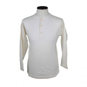 T-shirt serafino long sleeves 100% Organic Cotton Man ECOSPORT ®