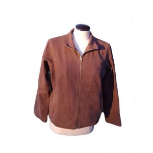 HV08JK007 Zipped Jacket Woman HEMP VALLEY  ®