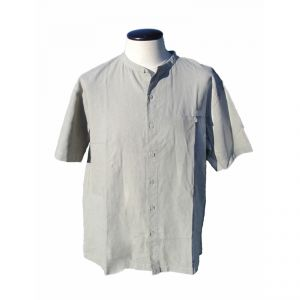 HV08SH2101 Short sleeve buttons & pocket Korean Shirt Man HEMP VALLEY ®
