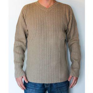 HV07SW161 Maglione con collo a V Uomo HEMP VALLEY ®