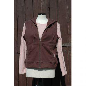 HV06VT2061 Sleeveless Sweatsuit Woman HEMP VALLEY ®