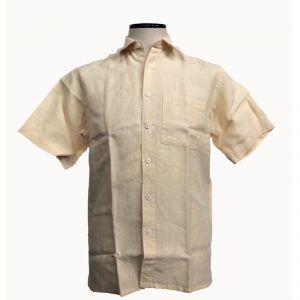 HV04SH710 Short sleeve Shirt Man HEMP VALLEY ®