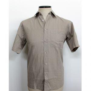 HV04SH715 Short sleeve Shirt Man HEMP VALLEY ®