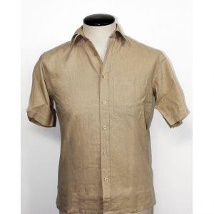 HV04SH711 Short sleeve Shirt Man HEMP VALLEY ®