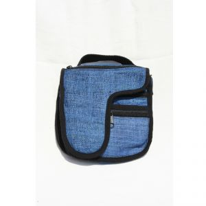 Hemp Small adjustable Shoulder Bag Unisex HANDMADE