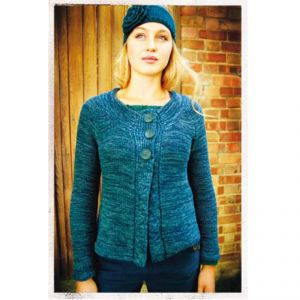 "BT10WWT1209SD ""Coastline"" Cardi Woman BRAINTREE ®"