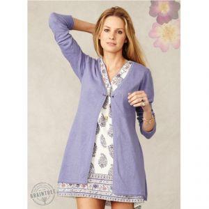 "BT14WST1932  ""Adria"" Long knit Cardigan Woman BRAINTREE ®"