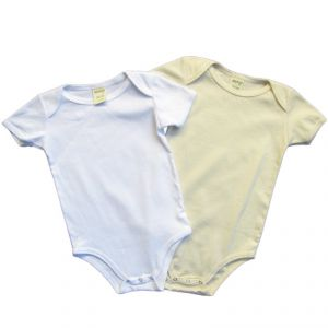 BTBABY100 Short sleeve Bodysuit 2 Pack Baby BRAINTREE ®