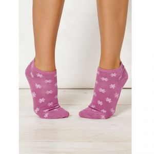 "BT15LS106 ""Jessie Flower Ankle"" short Socks Woman BRAINTREE ®"