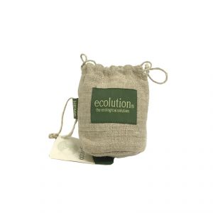 Drawstring Pouch - small 100% hemp ECOLUTION
