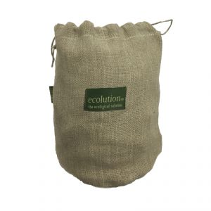 Drawstring Pouch - large 100% hemp ECOLUTION