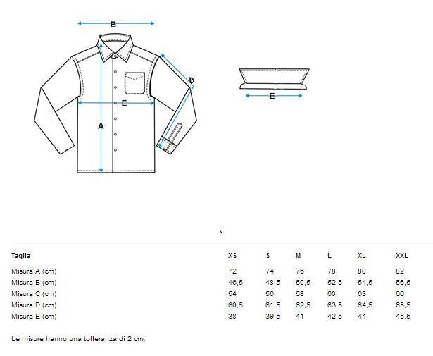 online store d02d5 1e67c PSH060 Camicia a manica lunga Uomo PACINO ®