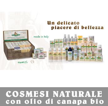 Cosmesi Naturale Bio Bottega della Canapa