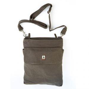 HV003 Borsa a tracolla con zip e tasca PURE ®