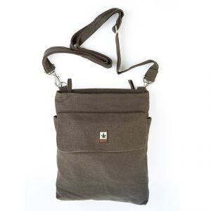 HV003 Zipped Shoulder Bag 1 Frontpocket PURE ®
