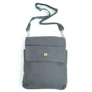 HV003 Zipped Shoulder Bag 1 Frontpocket PURE ®
