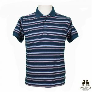 PMS017 Striped jersey Polo Man OUTLET PACINO ®