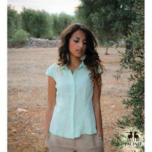 PSH023 Camicia a manica corta Donna PACINO ®