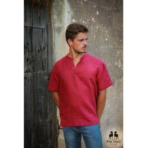 PSH210 Camicia coreana a manica corta Uomo PACINO ®