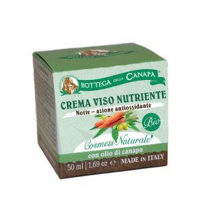 Crema Viso Nutriente BIO - notte azione antiossidante