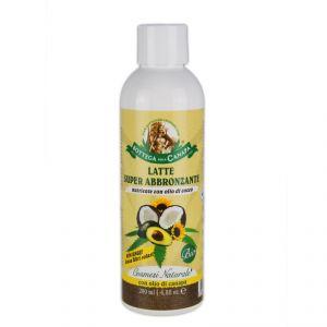 LATTE SUPER ABBRONZANTE -  nutriente con olio di cocco