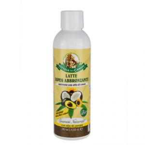 Super Milk Tanning BIO - nourishing with coconut oil