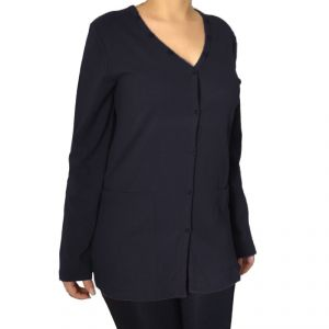 HV09FS052 Cardigan Woman HEMP VALLEY ®