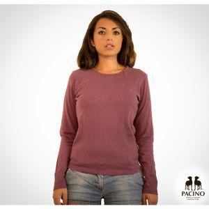 OUPFS079 Maglia a manica lunga girocollo jersey leggero Donna OUTLET PACINO ®