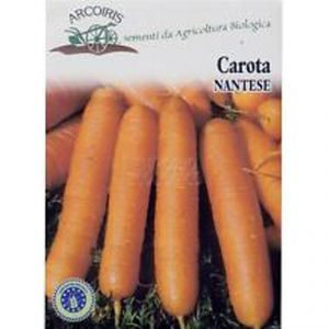 Nantes Carrot seeds - 5g