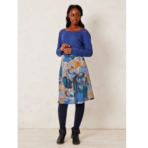 "BT15WWB2428 Skirt ""Yandina Owl A-line"" Woman BRAINTREE ®"