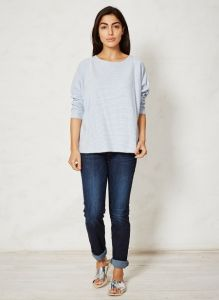 "BT16WST2612 T-shirt ""Magdalena Stripey"" Donna BRAINTREE ®"