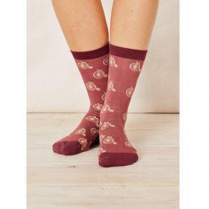 "BT16LS119 ""Penny Farthing"" Socks Woman BRAINTREE ®"