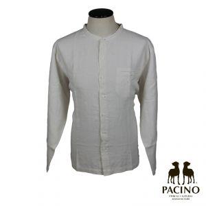 PSH2101A Camicia coreana a manica lunga con taschino Uomo PACINO ®