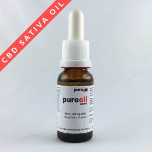 PureOIL SATIVA 20 ml - 400 mg CBD