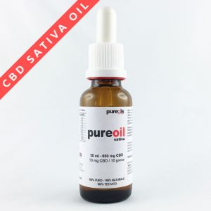 PureOIL SATIVA 30 ml - 600 mg CBD