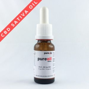 PureOIL SATIVA 20 ml - 200 mg CBD