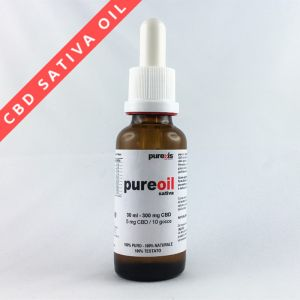 PureOIL SATIVA 30 ml - 300 mg CBD