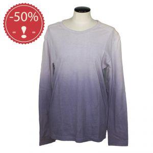 HV03TS993 T-shirt sfumata a manica lunga Donna HEMP VALLEY ® (*)