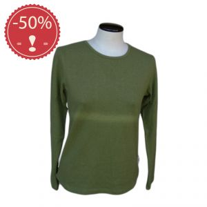 OUHV07TS004 T-shirt a manica lunga Donna HEMP VALLEY ® (*)