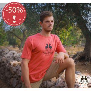 OUPTS967GS T-shirt a manica corta in jersey leggero con logo Uomo OUTLET PACINO ® (*)