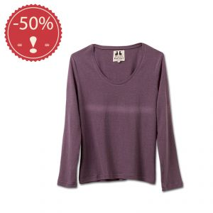 OU2PFS079 Long sleeve necklace light jersey Sweater Woman OUTLET PACINO ® (*)
