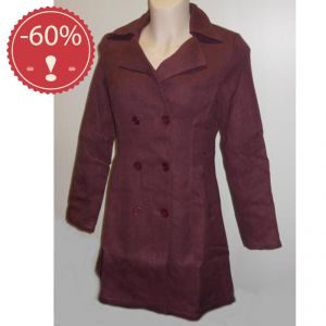 OUHV09FC069 Coat Woman OUTLET HEMP VALLEY ® (*)