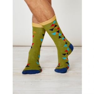 "BT17SPM227 ""Tate"" Socks Man THOUGHT by BRAINTREE ®"