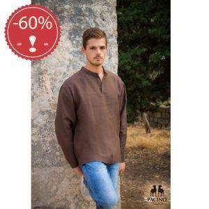 PSH210A Long sleeve Korean Shirt Man OUTLET PACINO ® (*)