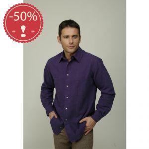 OUM103055 Camicia Uomo a manica lunga 2 tasche Uomo OUTLET MADNESS ® (*)